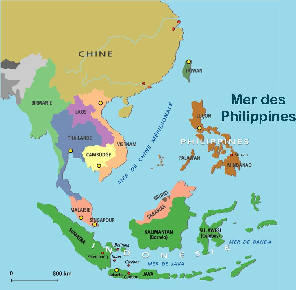 Carte Chine Philippines.Les Philippines Un Allie De Moins En Asie Des Etats Unis