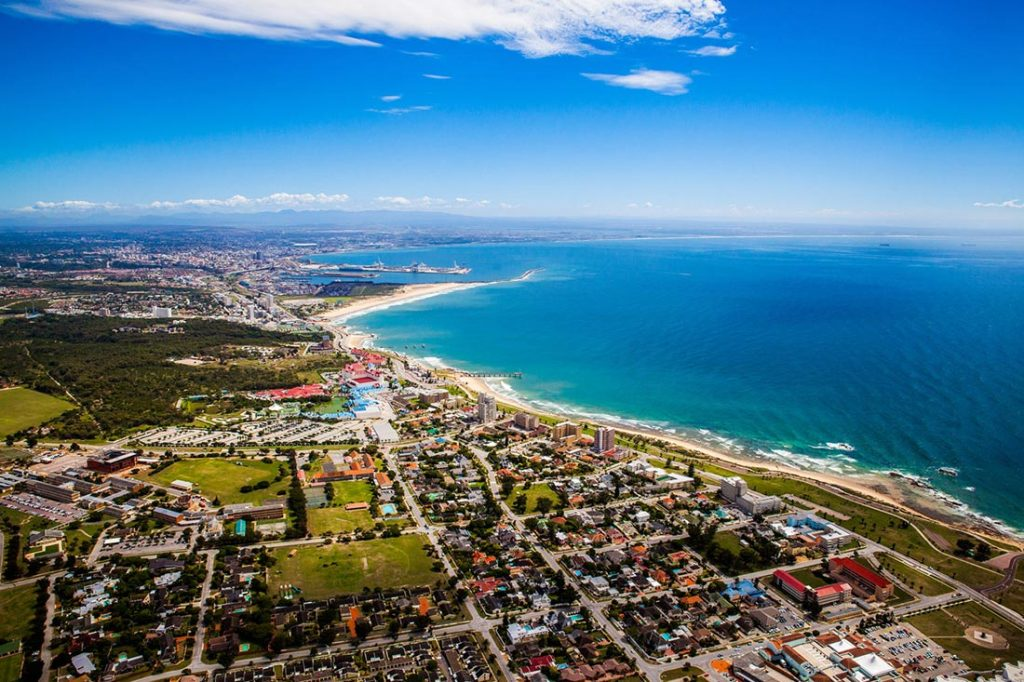 Port Elizabeth - Photo vue du ciel