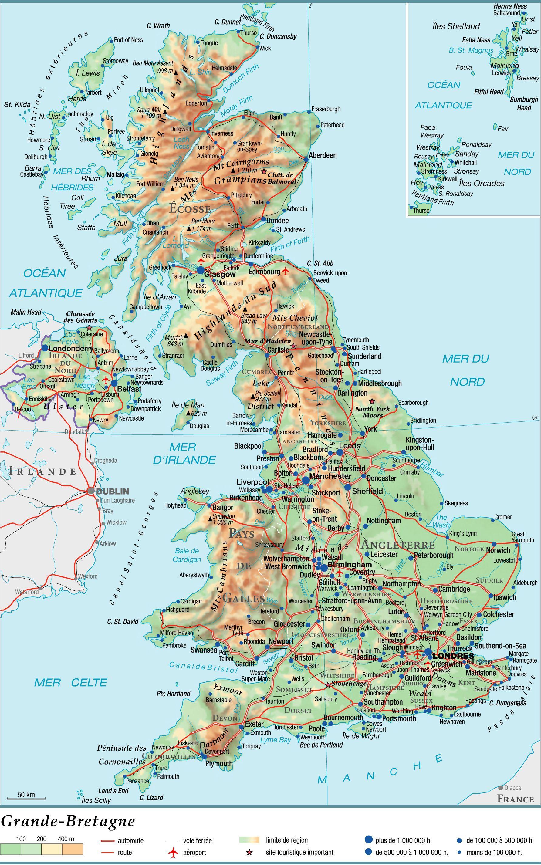 Carte Angleterre Grande Bretagne.Histoire De La Grande Bretagne Arts Et Voyages