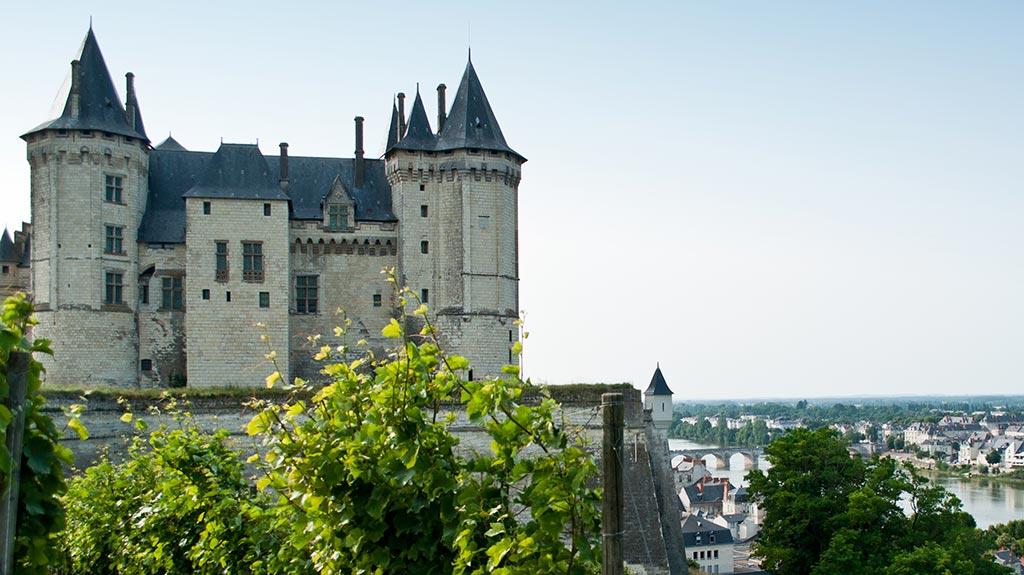 Paysage de la région d'Anjou