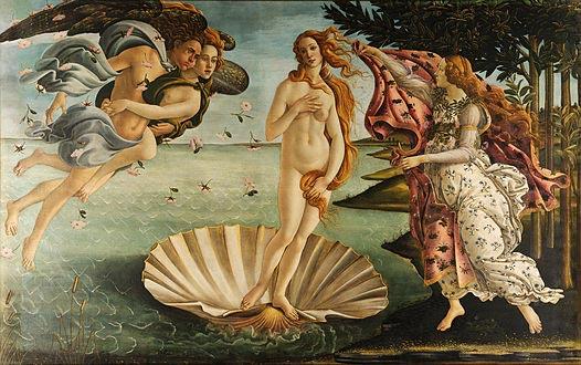 Botticelli - la naissance de Venus