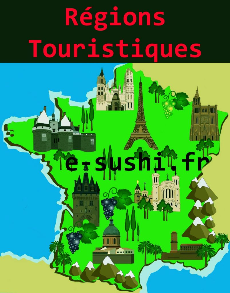 Régions touristiques