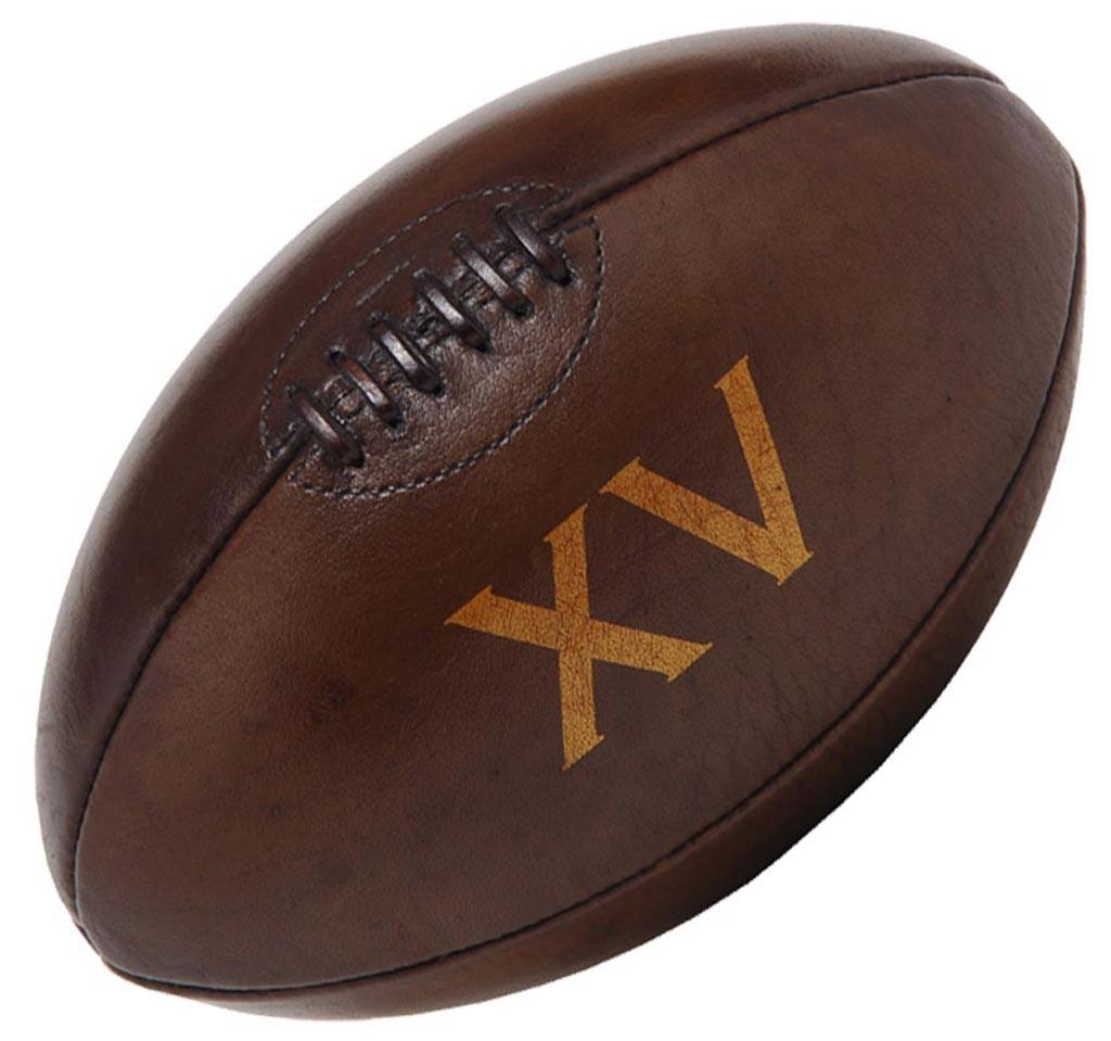 Rugby arts et voyages - Ballon de rugby vintage ...