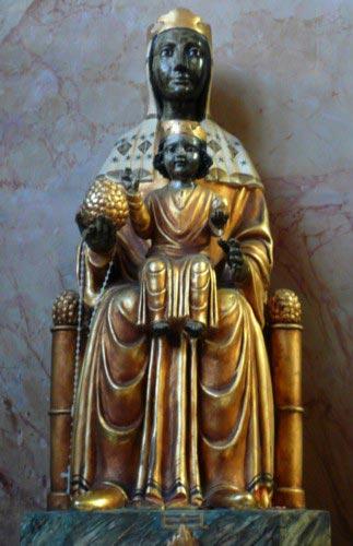 Vierge noire Monserrat
