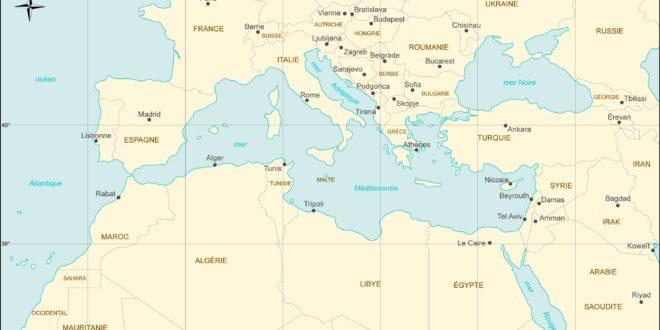 Carte-Méditerranée