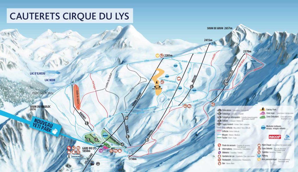 Cauterets - Pistes de Ski