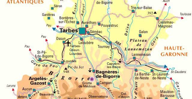 map of lourdes with Cartes Plans on Bijagua De Upala as well Photos as well Mappacittalourdes further Haute Pyrennees Lac De Gaube Pont as well Cartes Plans.