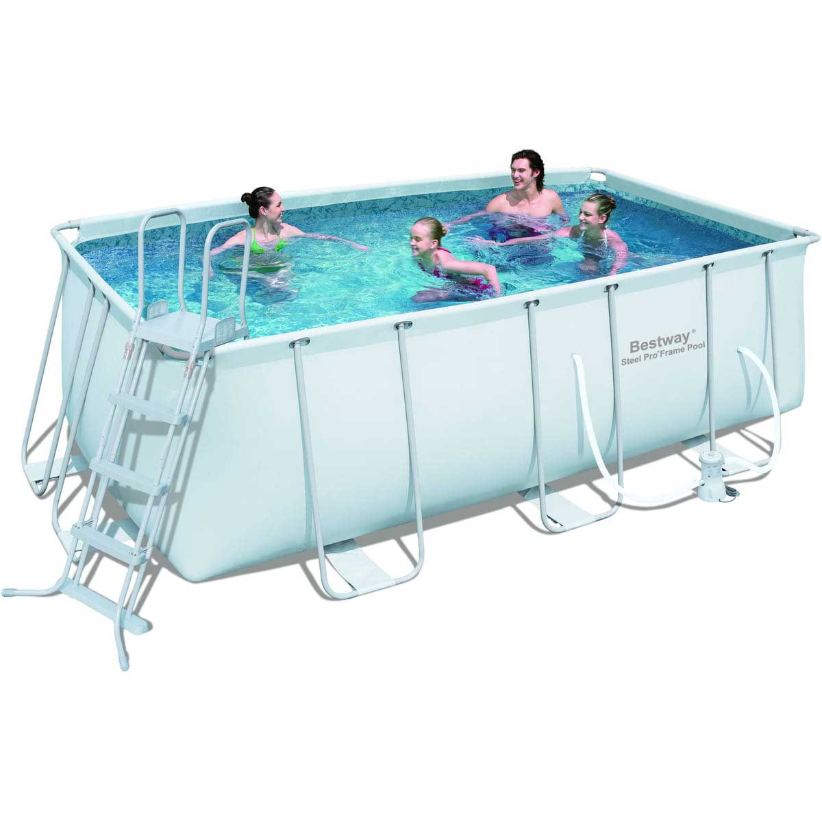 Piscine tubulaire arts et voyages for Piscine gonflable 2m