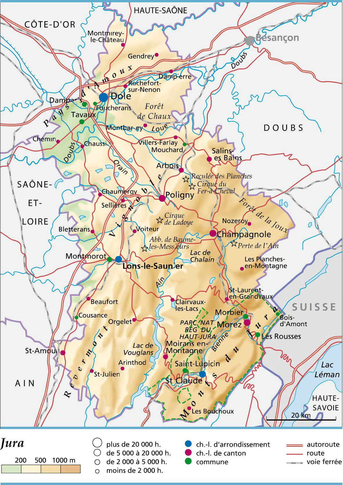 Jura – Département 39