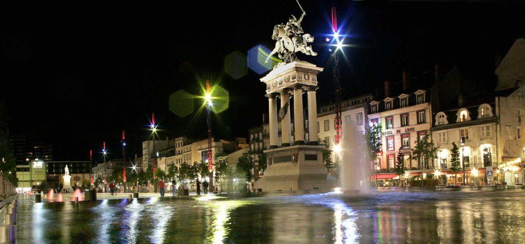 Clermont Ferrand - Photo de nuit