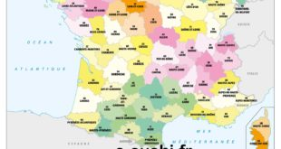 carte-101-departements-france