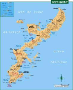 Okinawa - Carte