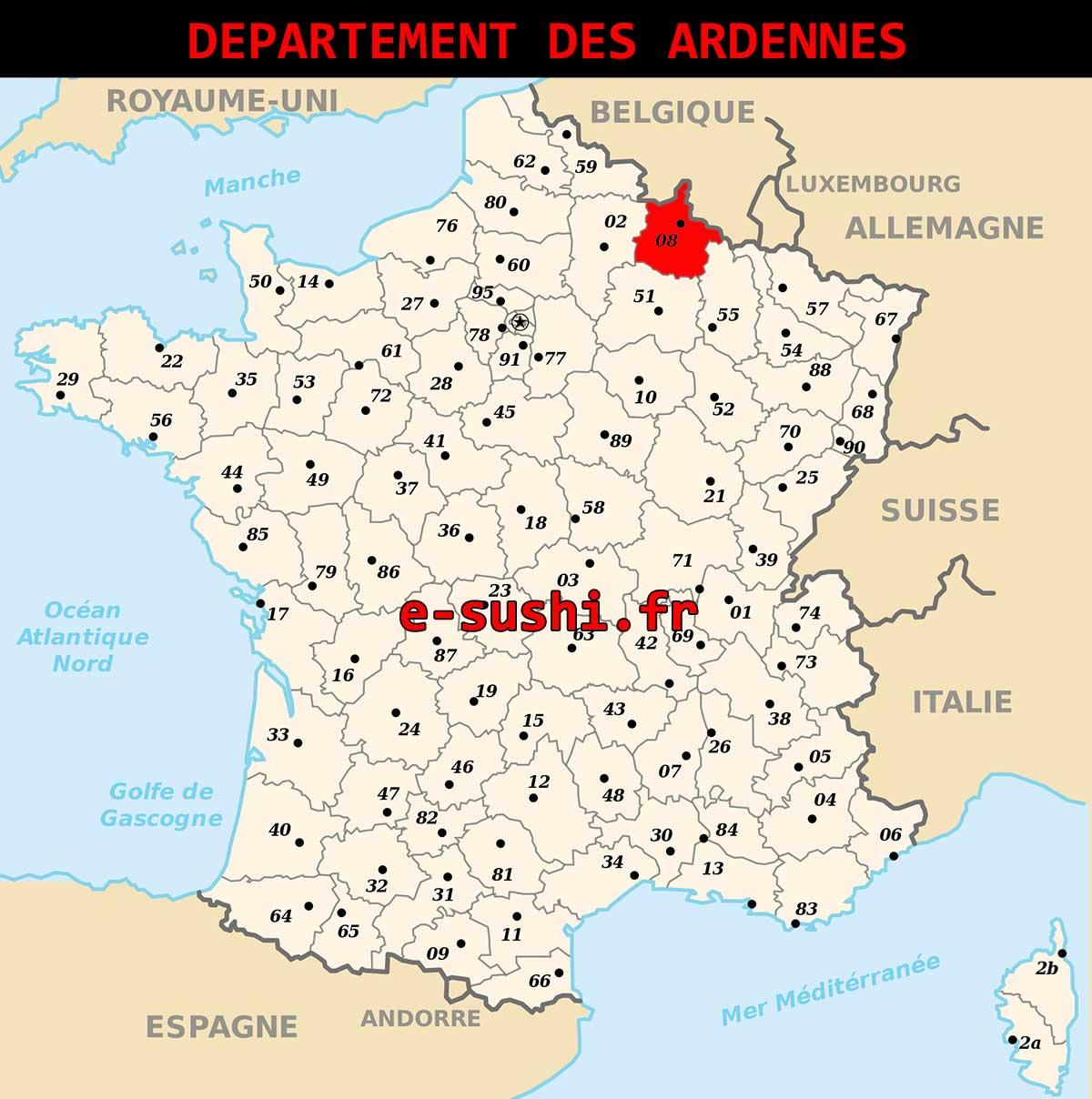 Département des Ardennes – 08