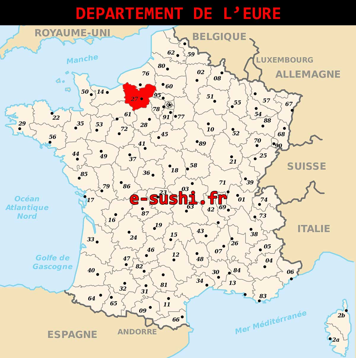 Département de l-Eure