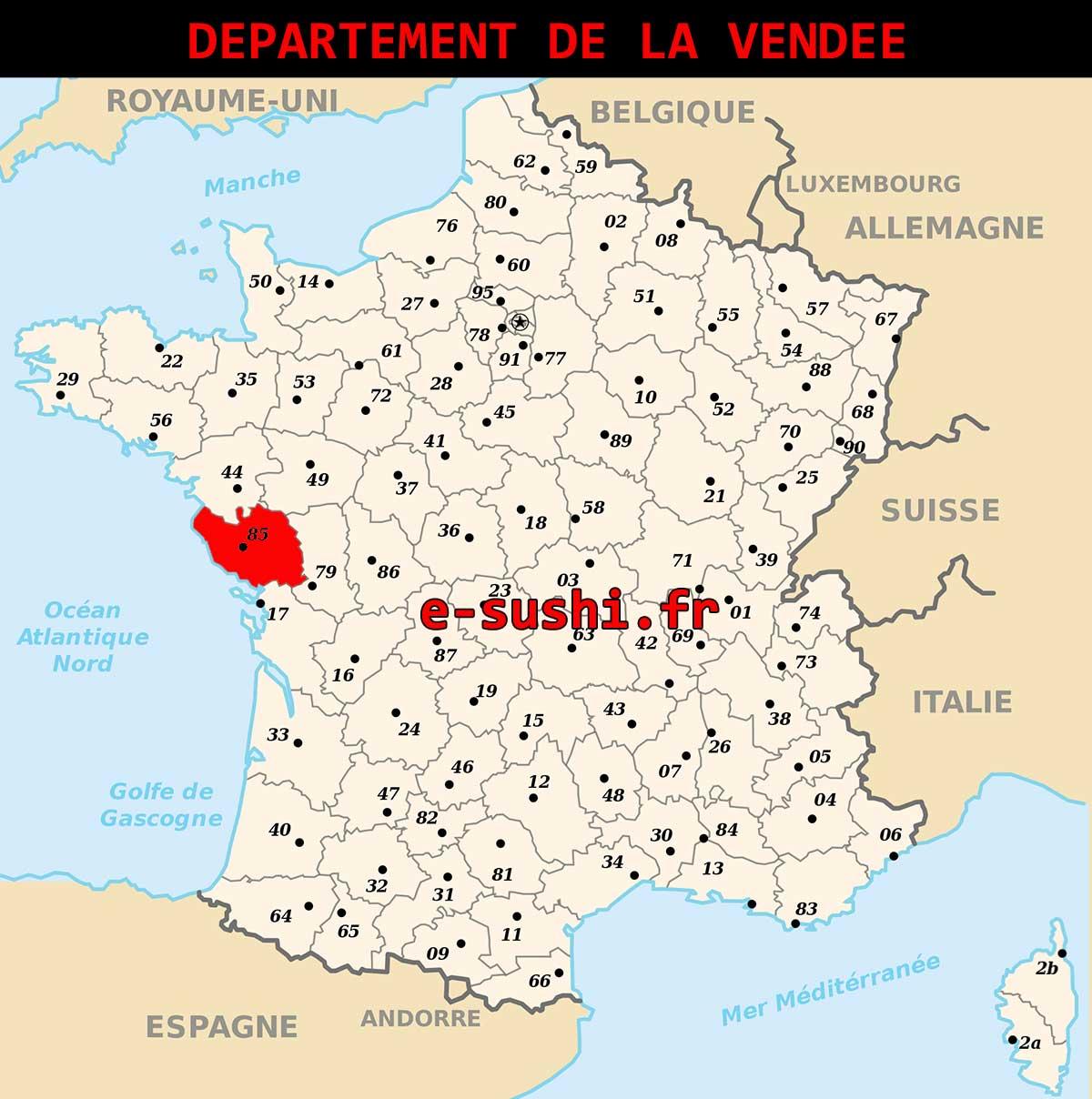 Département de la Vendée 85
