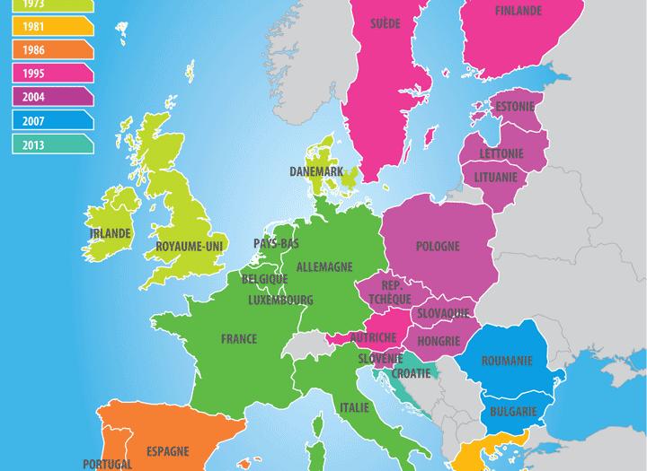 Carte UE