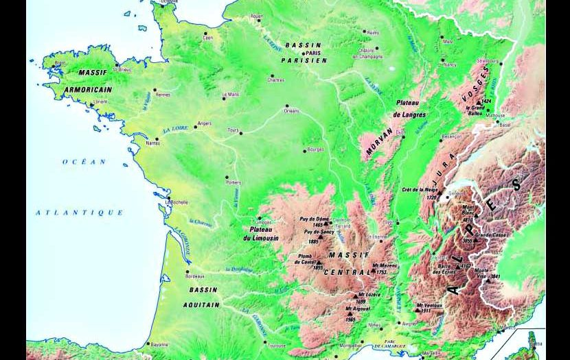 carte-france-geographique