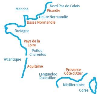 carte-plages-france