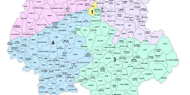 Carte Indre et Loire