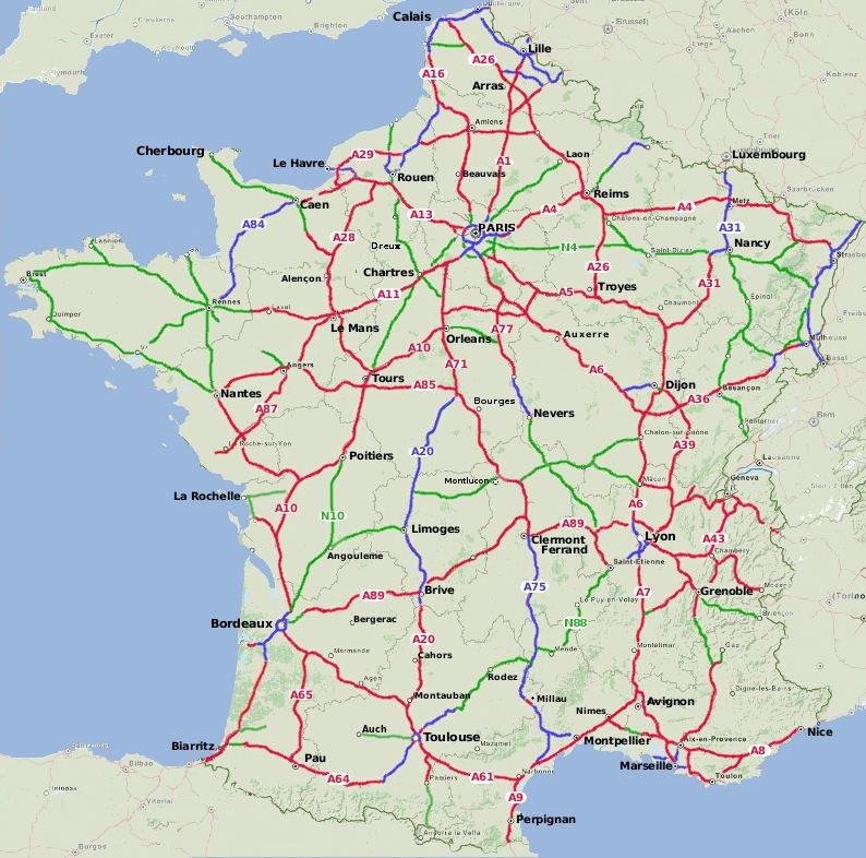 Care routière de France