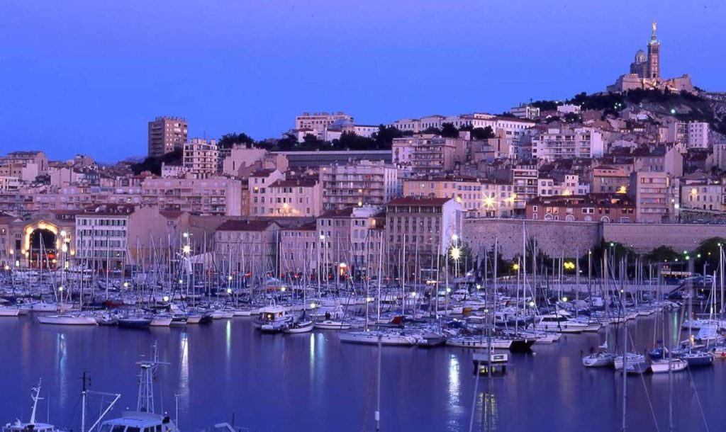 Marseille - photo de nuit
