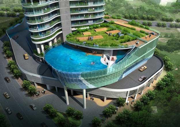 piscine pour balcon arts et voyages