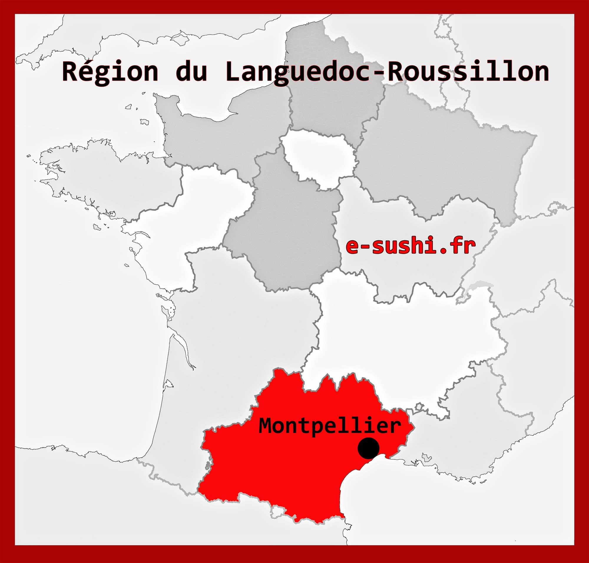 Montpellier - Région Languedoc-Roussillon - Arts et Voyages