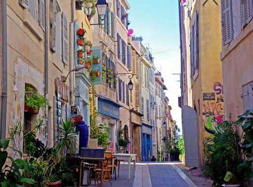 Quartier du panier-Marseille