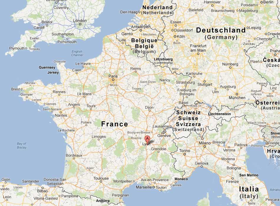 Vienne - Carte