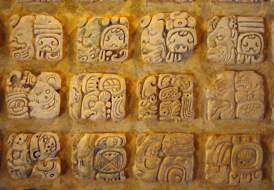 écriture maya