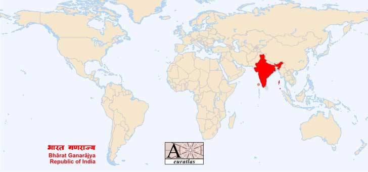 Carte Du Sud Est De Linde.Carte Du Monde Inde Arts Et Voyages