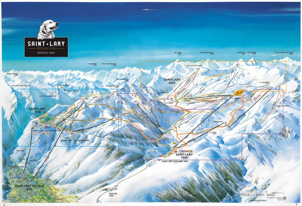 Village de Saint Lary Soulan - Ski