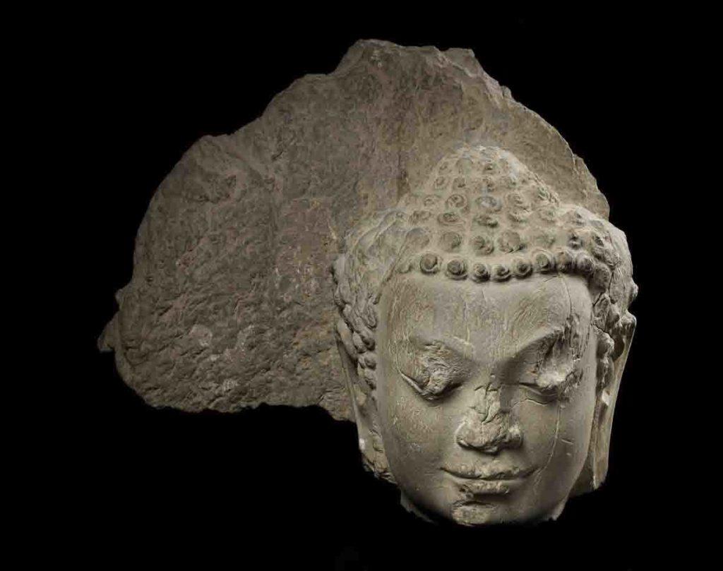 Tête de Buddha - Dvaravati