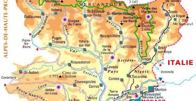 Départemet des Alpes-Maritimes