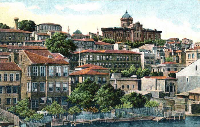 Constantinople - Quartier de Phanar
