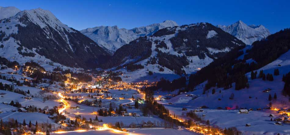 Gstaad - Photo de nuit
