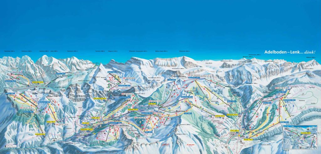 Adelboden - Pistes de ski