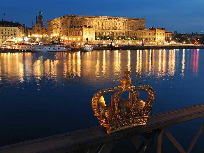 Palais Royal de Stockholm - Suede