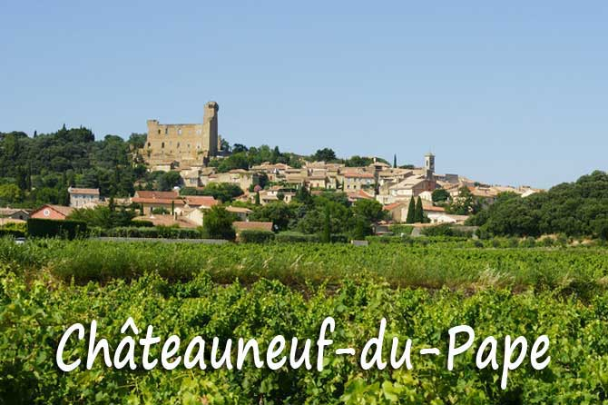 chateauneuf-du-pape- Panorama