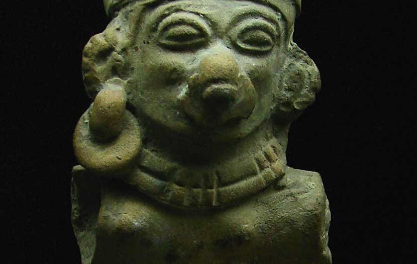 Chorrera - Statue