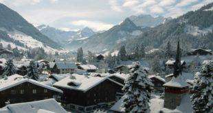 gstaad - village