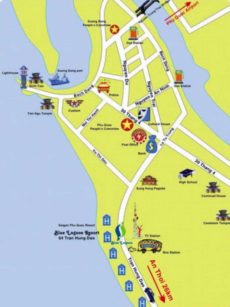 Carte de Dong Duong