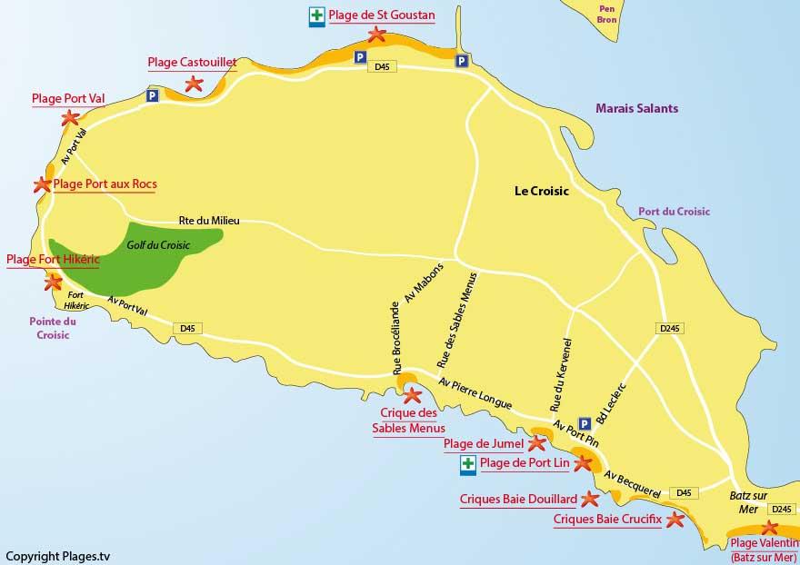 plan-plages-le-croisic