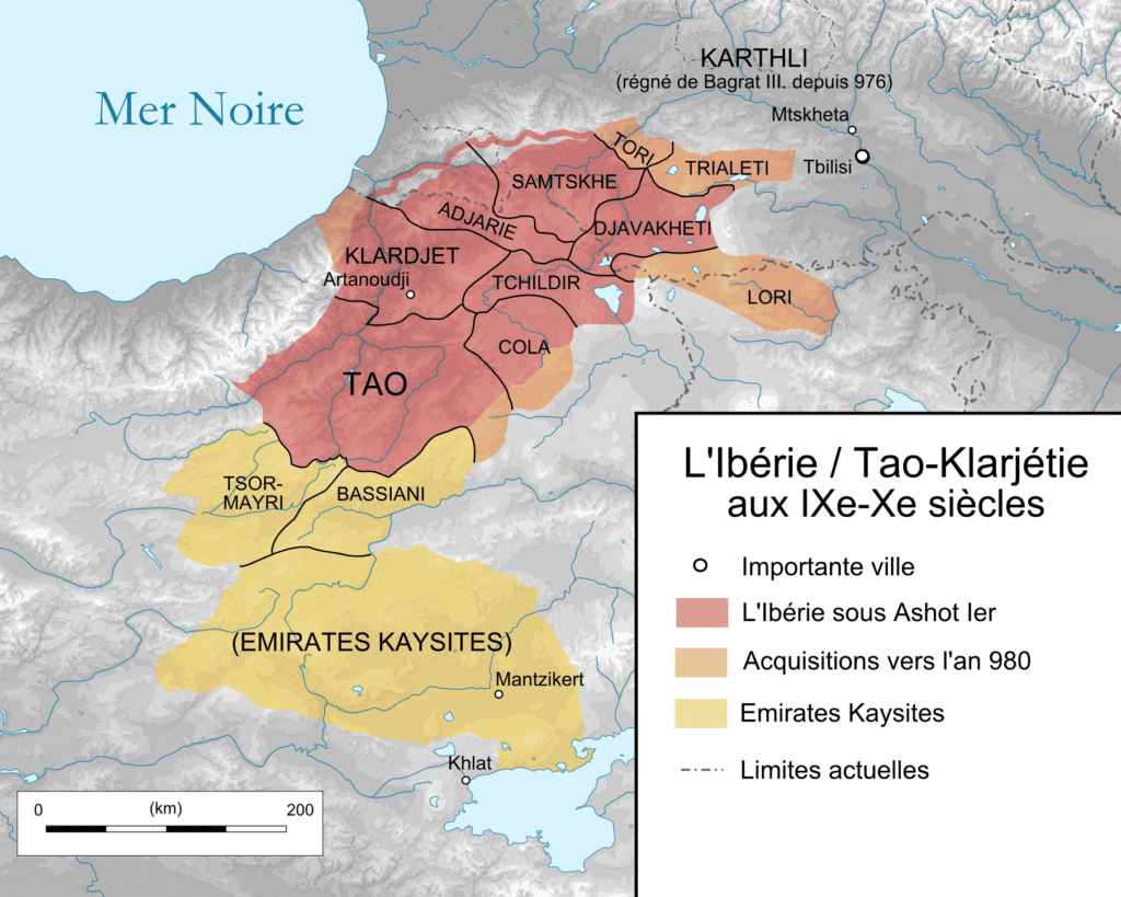 Ibérie - carte