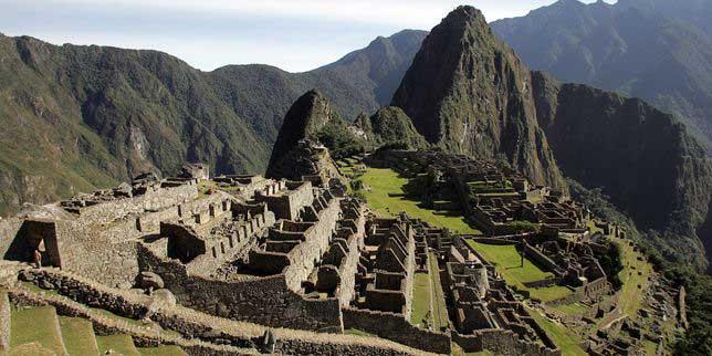 Ruines du machu picchu