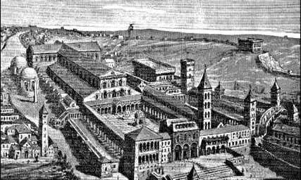 Ancienne Basilique Saint Pierre de Rome