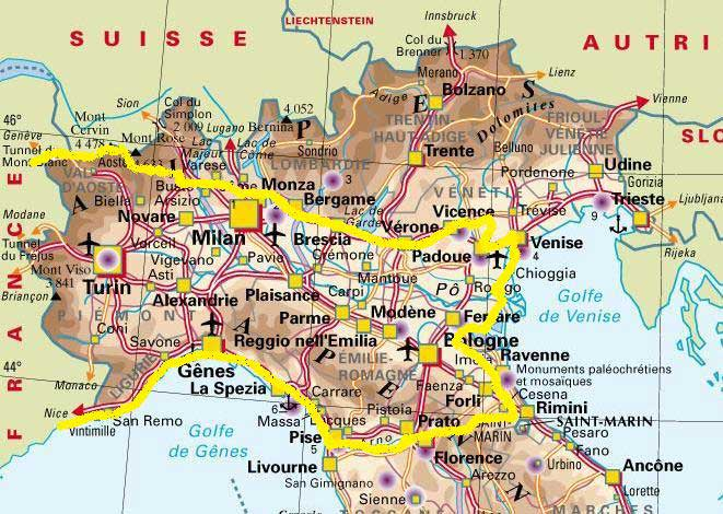 carte de l italie du nord Carte Italie 2016 Michelin Audiobook Free Download | Zaad Ul Maad