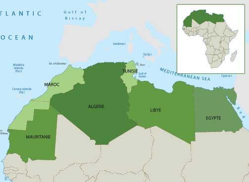 """Résultat de recherche d'images pour """"Grand Maghreb cartes géo"""""""
