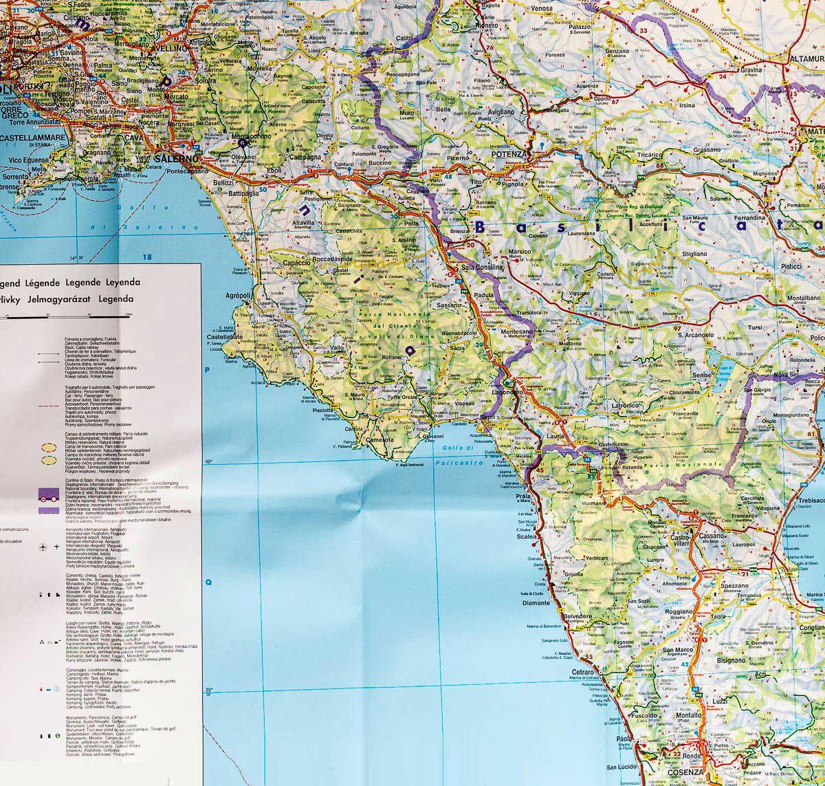Carte Italie Nord Michelin.Carte Routiere Italie Arts Et Voyages