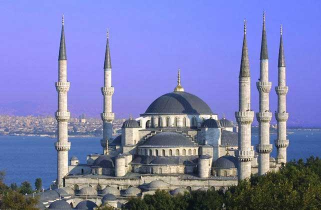 La Mosquée Bleue - Site touristique en Turquie